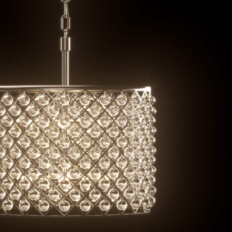 Spencer chandelier 3d model 1597 aloadofball Image collections